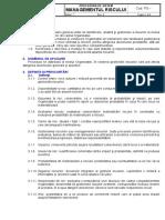 Procedura de Sistem- Managementul Riscului