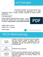 Summary Changes ISO 9001 (2015)