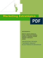 Marketing Estrategico (Helados Charapin)