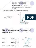 6.3 Trigonometric Functions