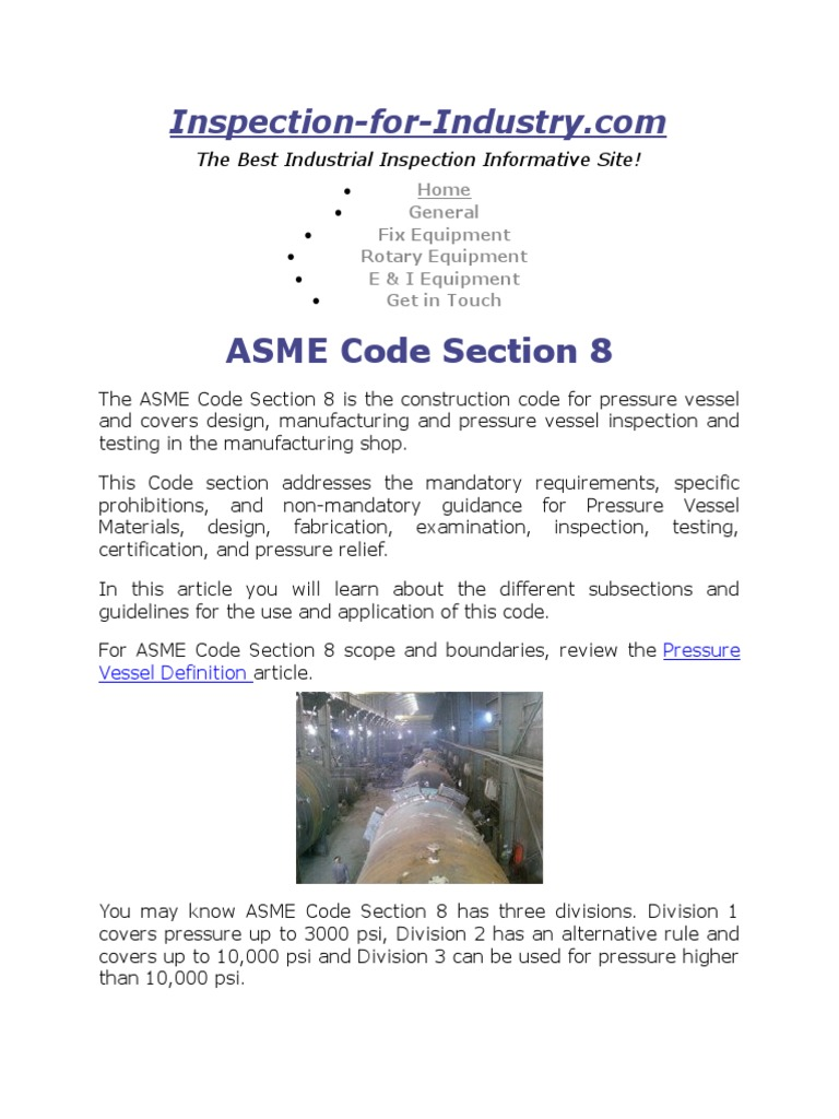 asme sec viii highlights | mechanical engineering | engineering
