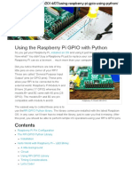 Using the Raspberry Pi GPIO With Python » MaxEmbedded Copy