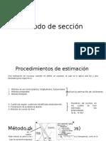 Método de Sección