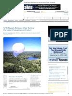 SES Reveals Balloon-lifted Tactical Per..