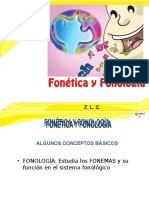 Fonetica y Fonologia -- Ce-Pre 2015