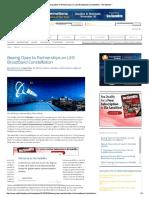 Boeing Open to Partnerships on LEO Broadband Constellation - Via Satellite