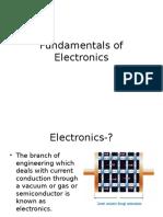 Fundamentals of Electronics