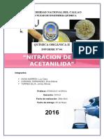 4to Informe Nitracion de La Acetanilida (1) (1)