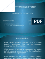 Defect Tracking System