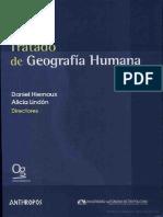 Geografia Cultural Tratado Geo Humana