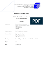 Analysis and Design Guidance on Fire Resistant Systems