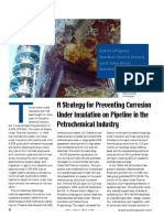 A Strategy for Preventing Corrosion Under Insulation on Pipeline in the Petrochemical Industry