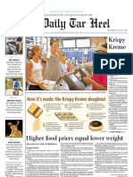 The Daily Tar Heel for June 10, 2010