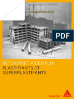 Fr Brochure Plastifiants Superplastifiant Beton Pret Emploi