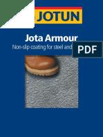 Jota Armour Brochure 2007