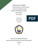111110372 Astutik p. Afianti Asia Hardware Semarang New Proposal