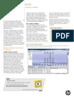 HP Data Protector Reporter Datasheet