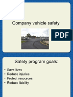 Company Vehicle Safety