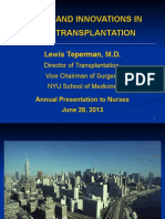 Liver transplantation overview