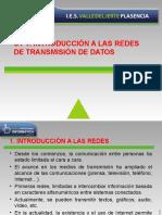 UT1 - Introducción a las redes de transmisión de datos