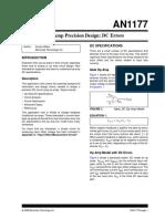 Op Amp Precision Design-DC Errors