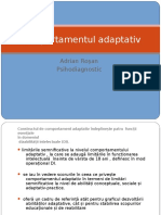 Comportamentul adaptativ