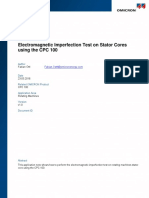 CPC 100 AppNote Stator Core Testing on Rotating Machines ENU