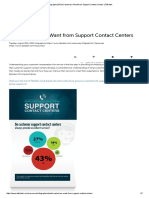 [Infographic] What Customers Want From Support Contact Centers _ Talkdesk