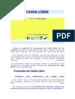 CAIDA LIBRE3