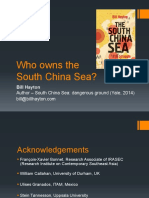 Who Owns the South China Sea