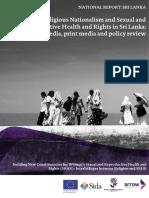 Sri Lanka Report on Ethno-religious Nationalism and SRHR