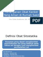 Penanganan Obat Sitostatika