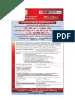 Requisitos y Plan de Estudios Proyectos