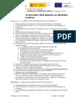 Práctica 8 - Server Apache