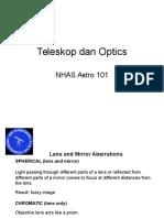 Pengenalan Teleskop Kursus Ilmu Falak OIF