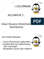 Presentasi Kinematika Gelombang Mata Kuliah Gelombang