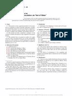 Coagulation Flocculation Jar Test of Water ASTM D2035.pdf