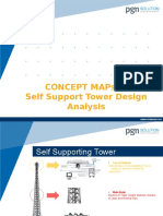 Self Support Tower Analysis