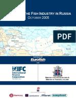 Skyrsla Fish Industry in Russia i Eurofish