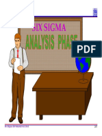 4.0 Six Sigma Analysis