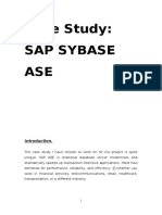 Case Study SAP ASE