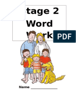 Stage 2 Word Work