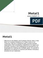 Metal1 - Sheetmetal Manufacturers in Bangalore, Pune