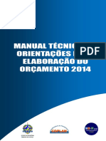 Manual de Elaboracao Do Orcamento