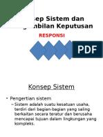 R.1 Konsep Sistem Dan Pengambilan Keputusan