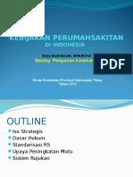 Kebijakan RS Terkait PKRS