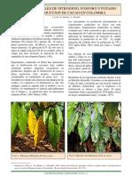 Fertilizacion Cacao Npk