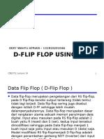 D Flipflops