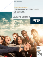 A Window of Opportunity for Europe Brief