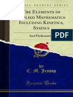 The Elements of Applied Mathematics Including Kinetics Statics